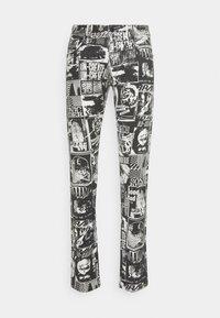 Diesel - STRUKT - Slim fit jeans - khaki/black denim - 0