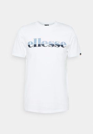 FILIP - T-shirt med print - white