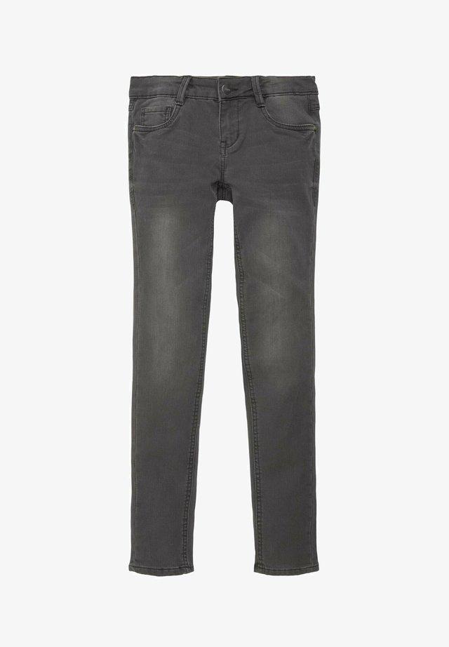 Straight leg jeans - black denim black