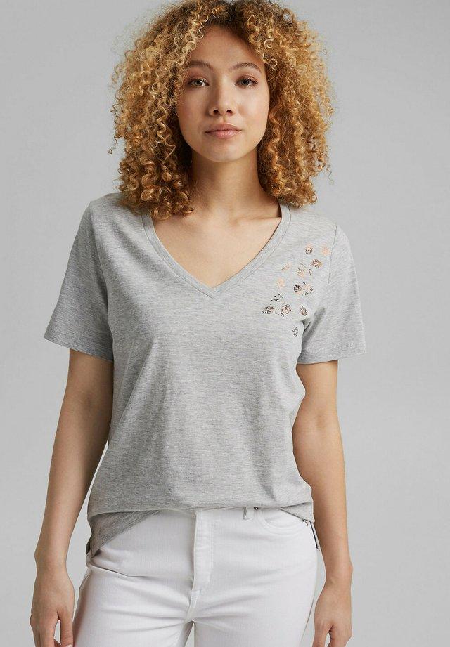 T-shirt imprimé - light grey