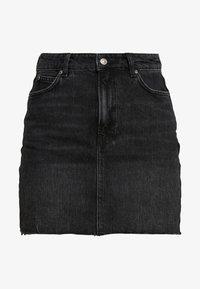 Denimová sukně - black denim