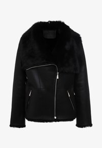 STUDIO ID - PHILIPPA JACKET - Leather jacket - black - 5