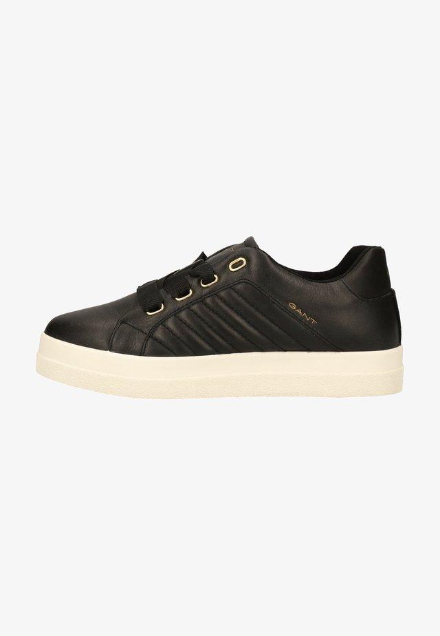 Sneakers laag - black g