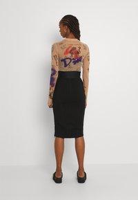 Diesel - O-BAND - Pencil skirt - black - 2