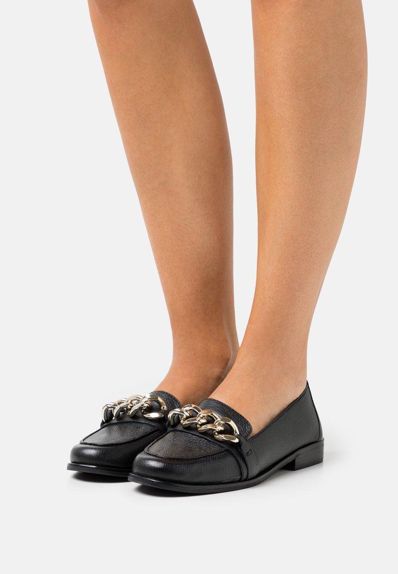 Dune London - GILMORE  - Įmautiniai batai - black