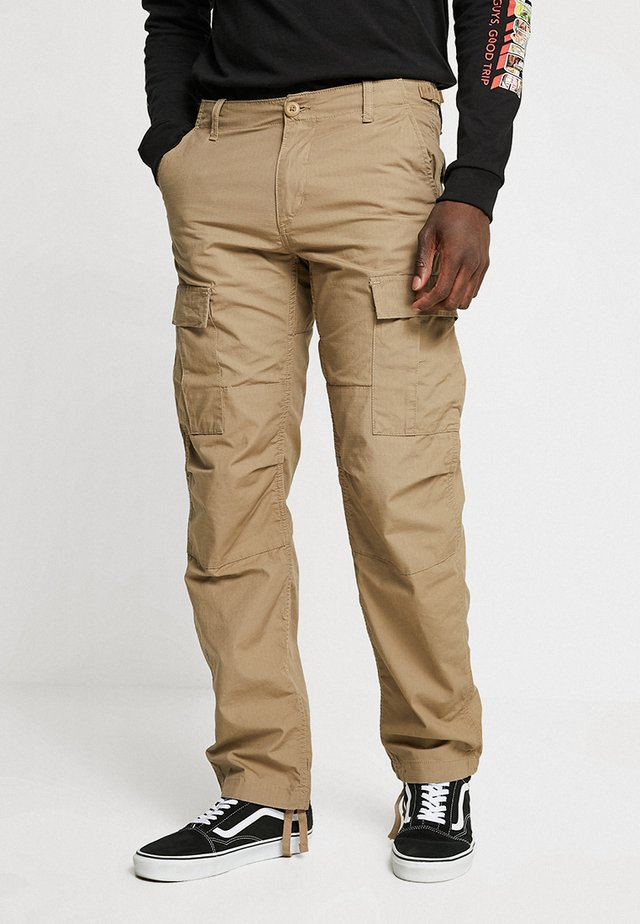 AVIATION PANT COLUMBIA - Pantalon cargo - sand