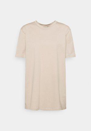 BASIC OVERSIZE TEE - T-shirt basic - beige