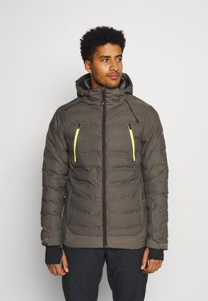 SAXON MENS SNOWJACKET - Snowboard jacket - pine grey