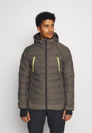 SAXON MENS SNOWJACKET - Snowboardová bunda - pine grey