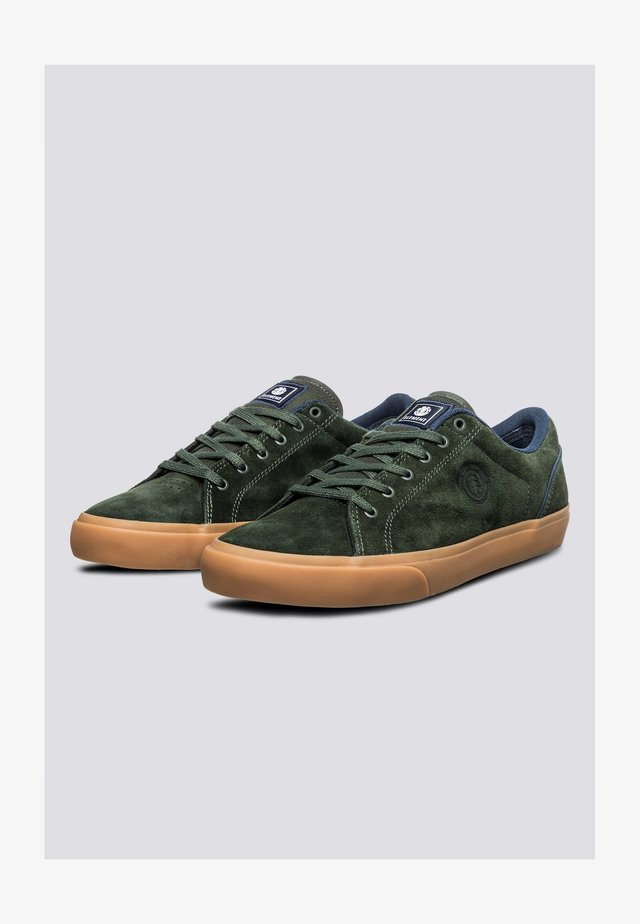 CREETON - Sneakers laag - forest night