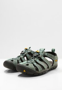 Keen - CLEARWATER CNX  - Walking sandals - mineral blue/yellow - 2