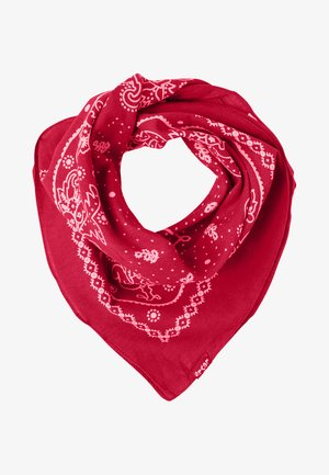 PAISLEY BANDANA - Halsdoek - regular red