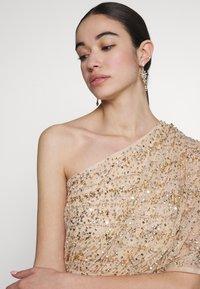 Lace & Beads - ROSE MAXI - Vestido de fiesta - cream - 3