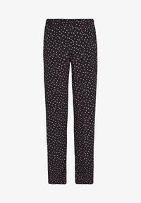 Pieces - PCNIMMA WIDE PANT - Trousers - black - 4