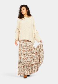 Isla Ibiza Bonita - PARAISO - Pleated skirt - autumn paradise - 1