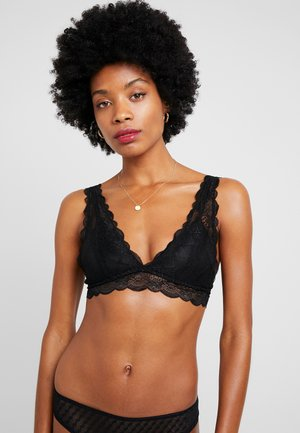 CINDY LONGLINE WIREFREE - Triangel BH - black
