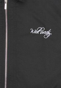 Pegador - EMBROIDERY JACKET - Light jacket - black - 2
