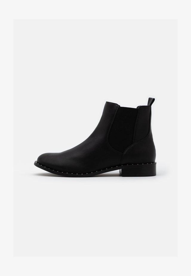 BIAELLA STUD CHELSEA BOOT - Ankle boots - black