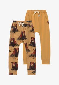 Walkiddy - 2 PACK - Tracksuit bottoms - yellow - 3