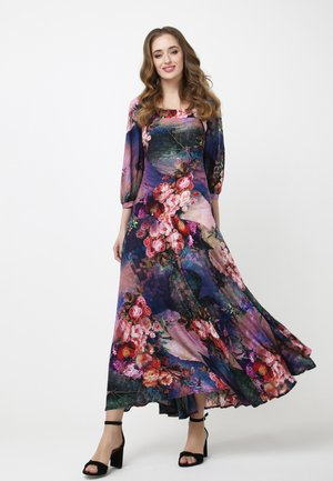 MARLIN - Maxi dress - blau/lila