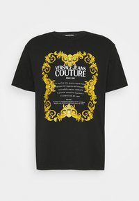 MOUSE - Print T-shirt - mottled olive