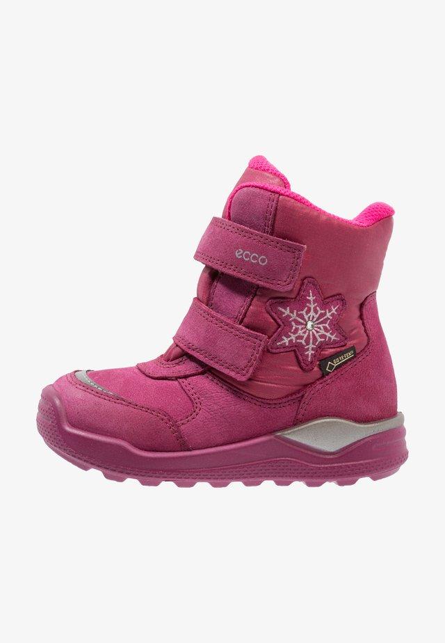 URBAN MINI - Winter boots - red plum