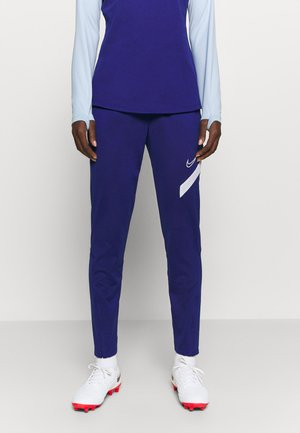 DRY ACADEMY 20 PANT - Joggebukse - deep royal blue/white