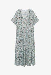 Violeta by Mango - FLIESSENDES - Day dress - himmelblau - 4