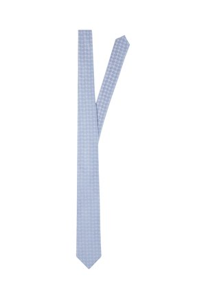 Tie - hellblau gemustert
