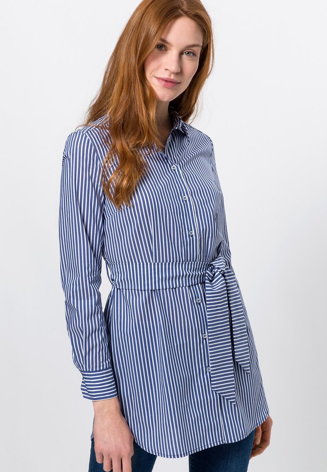 Overhemdblouse - dark blue