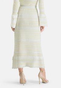 Nicowa - SANAWO - A-line skirt - white - 2