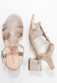 Caprice - Sandales - taupe metallic - 3