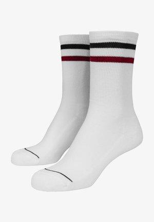2 PACK - Ponožky - white navy red