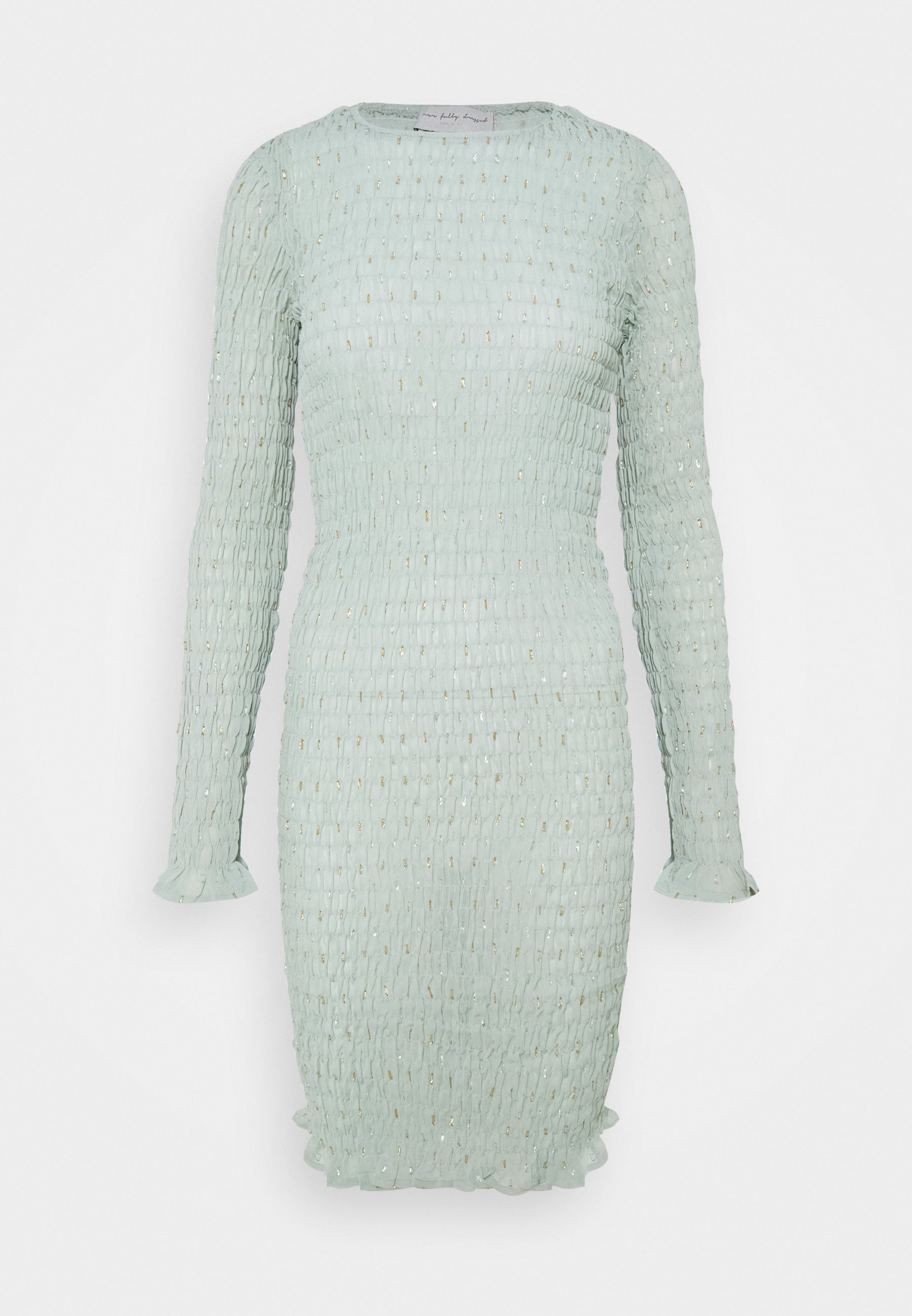 Women SHIRRED DRESS - Day dress