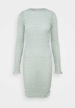 SHIRRED DRESS - Vardagsklänning - green