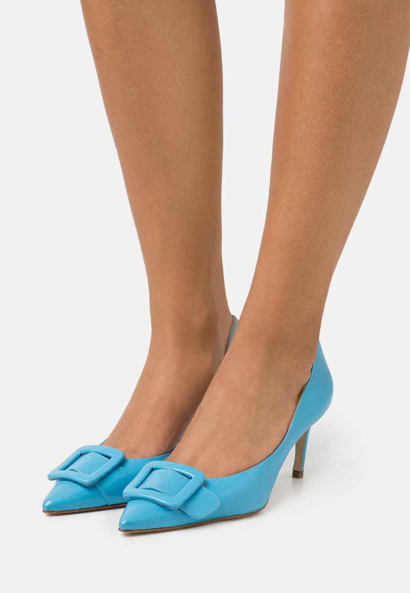 Billi Bi - Czółenka - clear blue