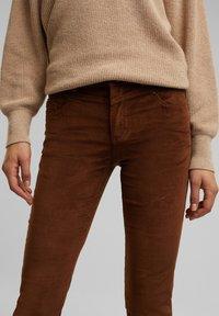 Esprit - FASHION  - Trousers - brown - 6