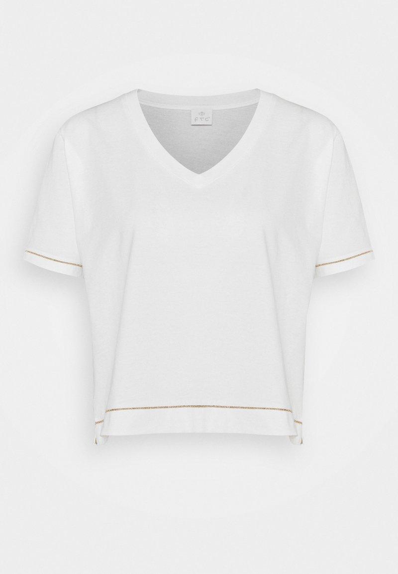 FTC Cashmere - Printtipaita - pristine white