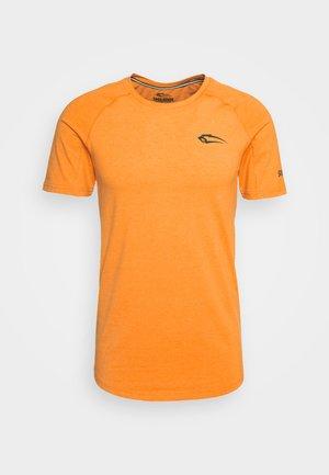 SLIM FIT - T-shirt imprimé - orange