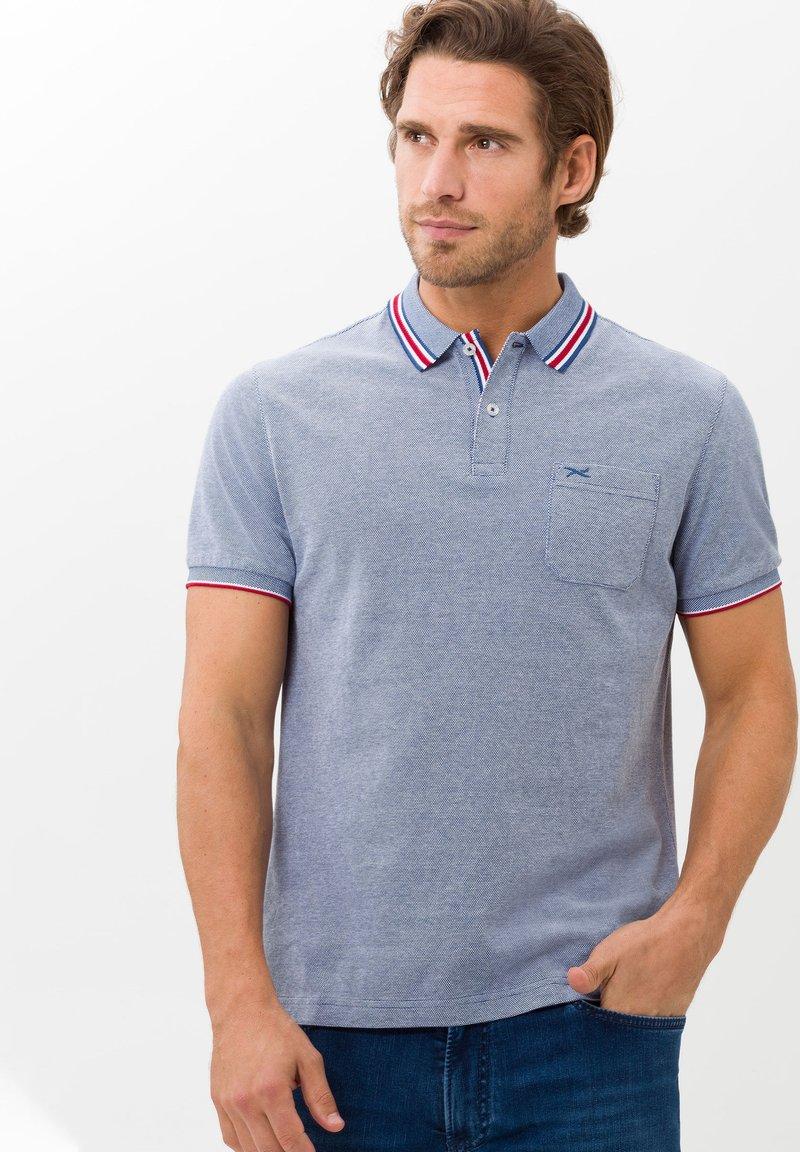 BRAX - STYLE PADDY - Polo shirt - blau