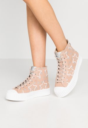NETTIE  - High-top trainers - pink