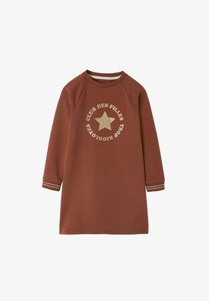 MADSCHEN SWEATKLEID - Jersey dress - ziegel