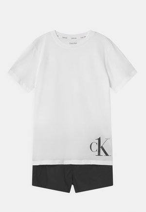 Pyjama set - white/black