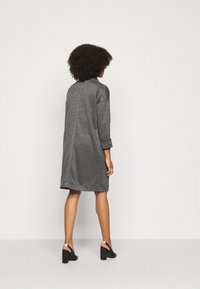 Pieces Petite - PCDORITA COATIGAN NOOS - Classic coat - dark grey - 2