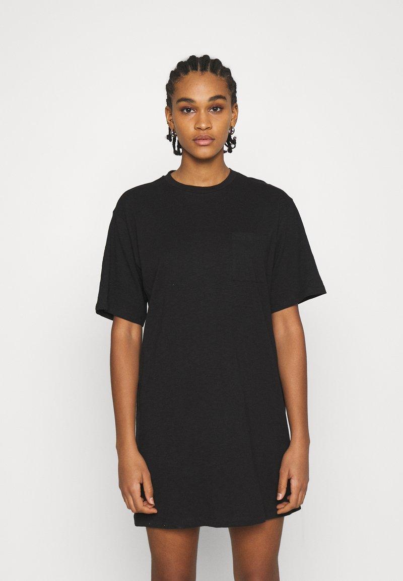 Even&Odd - Vestito di maglina - black