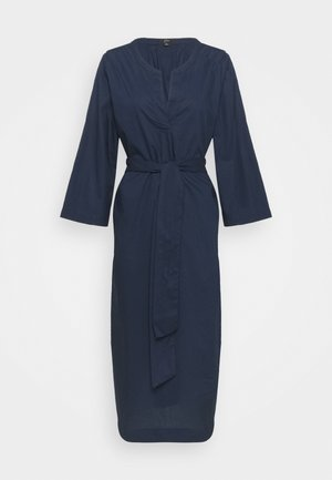 BELTED TUNIC - Day dress - navy