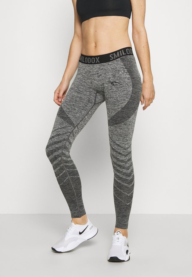 DAMEN LEGGINGS - Trikoot - anthrazit