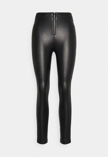 ONLSOPHIE MARIA ZIP - Leggings - Trousers - black