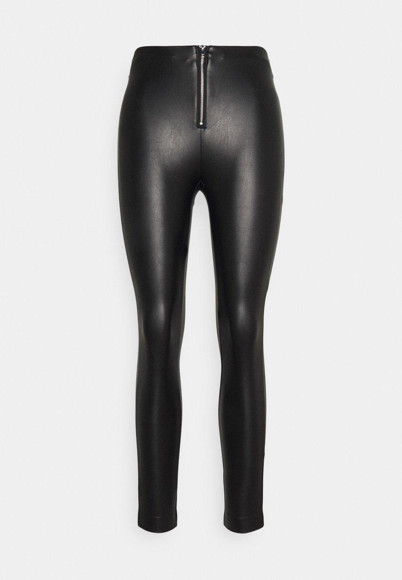 ONLY - ONLSOPHIE MARIA ZIP - Leggings - Trousers - black