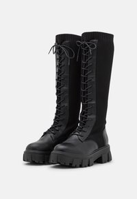 Call it Spring - VEGAN TINSLEYY - Lace-up boots - black - 2
